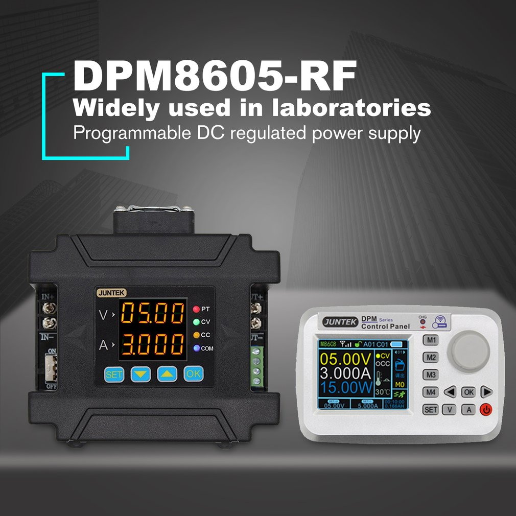 Alimentation à tension constante à courant continu régulée par Communication de contrôle numérique Programmable de DPM8605-RF avec télécommande
