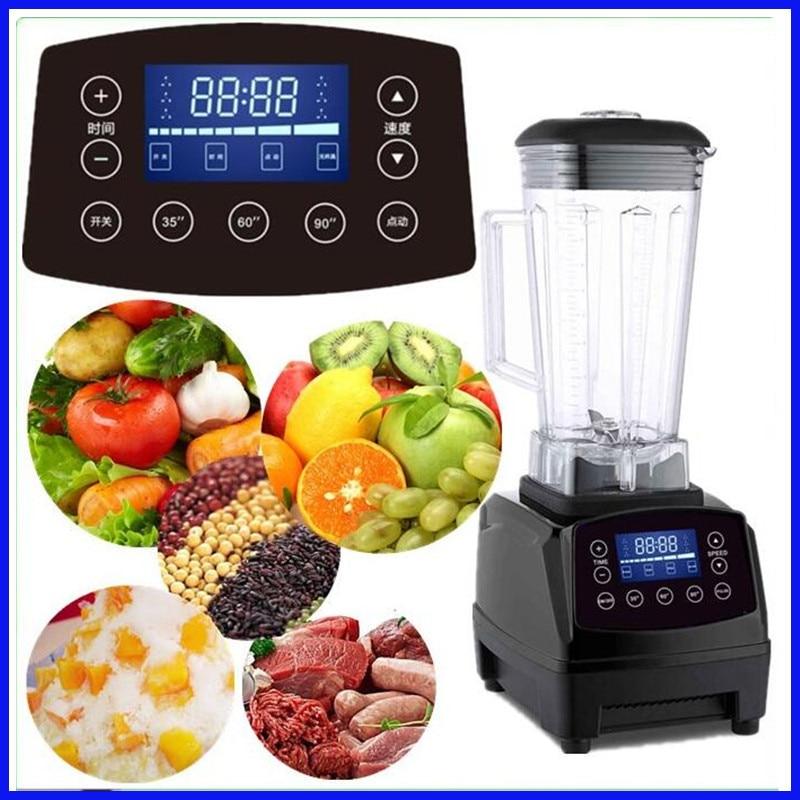 Heavy Duty Commercial Blender Mixer Juicer High Power Food Processor Ice Smoothie Bar Fruit Electric Blender