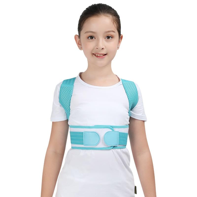 Adjustable Children Posture Corrector Belt with Detachable Shoulder Pad to Develop Good Walking and Sitting Posture 11