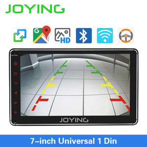 Image 4 - JOYING 7 inch Car radio Android 8.1PS 1GB RAMhead unit support Voice Command/SWC/mirror link/fast boot/Rear view camera autoradi
