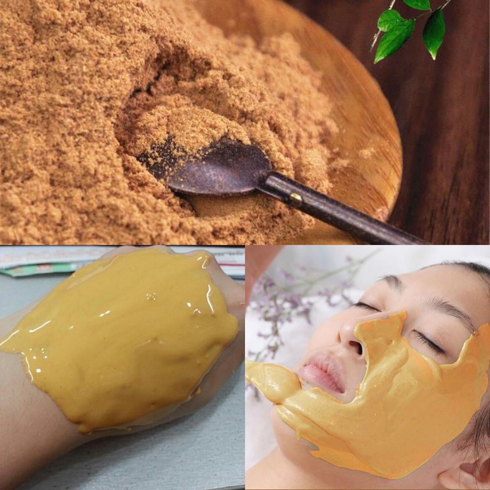 24K gold active mask powder brightening luxury spa strong moisturizing anti-aging wrinkle mask skin care tools