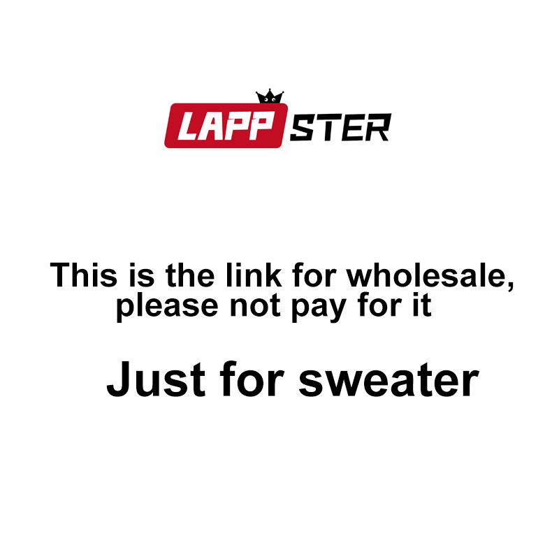 LAPPSTER Men Korean Fashions Stipred Sweater For 2019 Winter Colorful Sweater Pullover Couple Christmas Women Harajuku Clothes