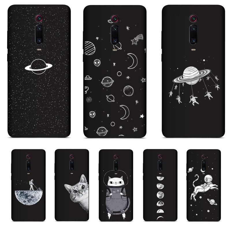 "PENSEN Soft TPU 6.39"" For Xiaomi Redmi K20 K 20 Pro Case Cover Matte Painting Cases For Xiaomi Mi 9T Pro Mi 9 T Cute Cat Coque(China)"