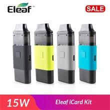 RU In Lager! Original Eleaf iCard Kit 15w gebaut in 650mAh Batterie mit 2ml Patrone ID 1,2 ohm spule E zigarette vape kit