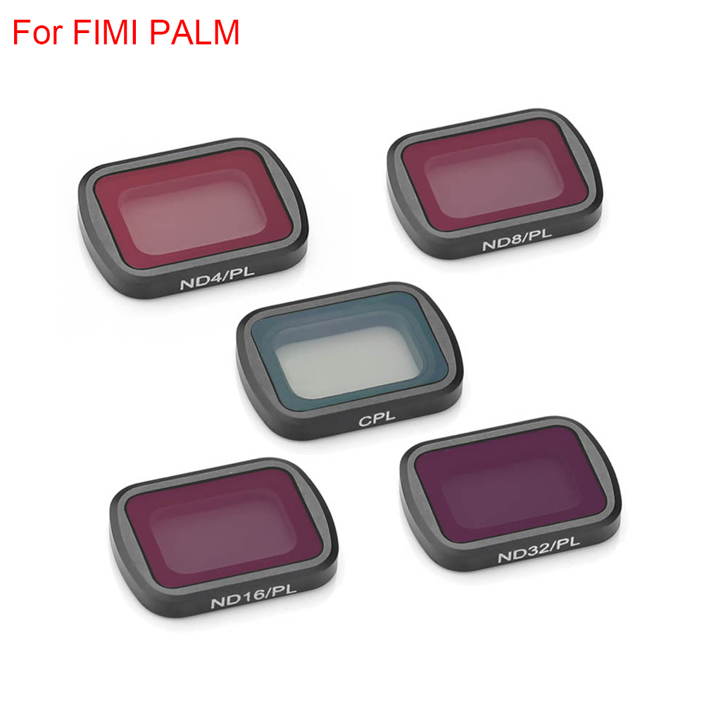 Lens Filter CPL For FIMI PALM Mini Aerial Gimbal Camera Stabilizer ND4 ND8/16/32-PL Neutral Density Polar Accesoris Len Sets