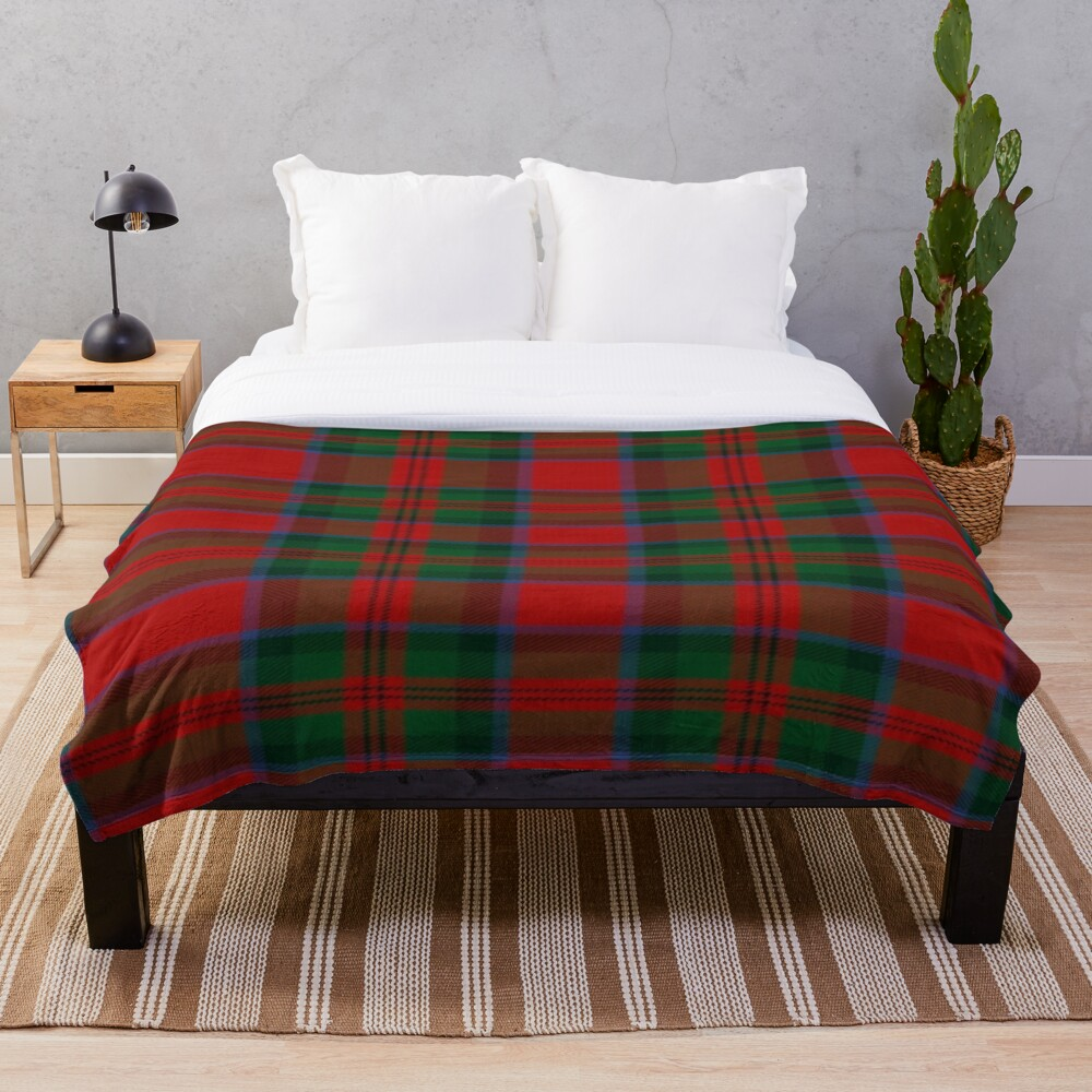 Printed Throw Blanket Sherpa Fleece Soft Blanket Flannel Rug Home Decoration For Bed Drop Shipping Macduff Tartan