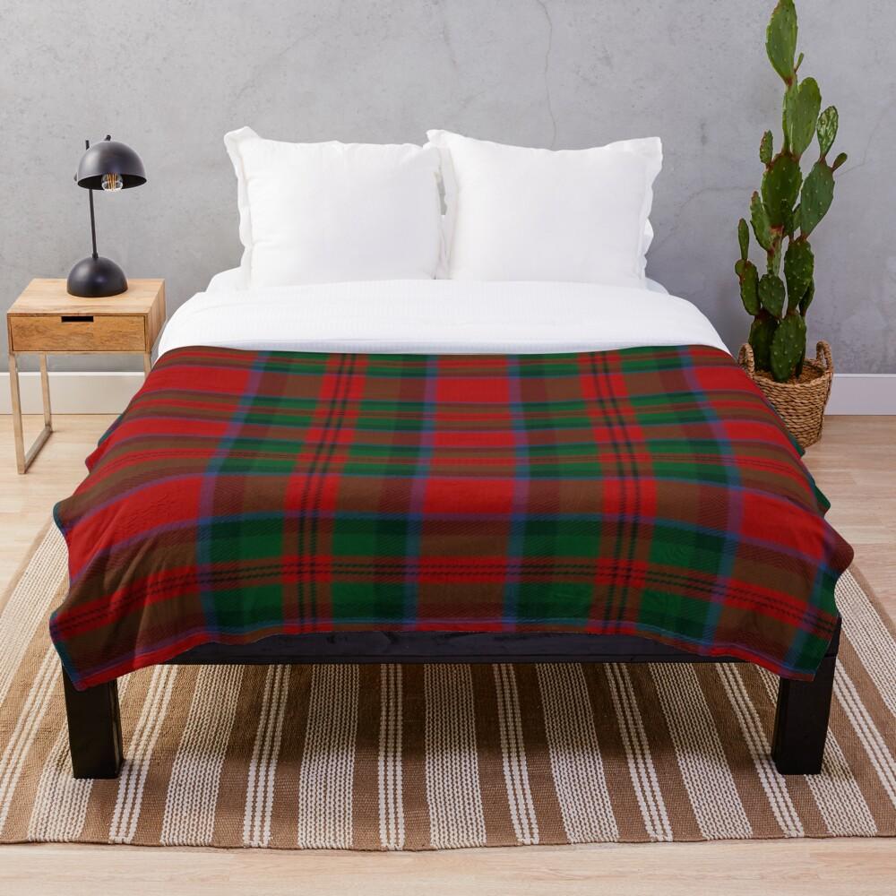Printed Throw Blanket Sherpa Fleece Soft Blanket Flannel Rug Home Decoration For Bed Drop Shipping Macduff Tartan