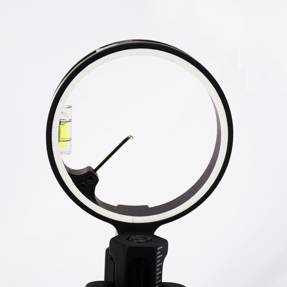 Profissional 1 Pinos Arco Vista Micro-ajustar Composto Tiro Com Arco Arco Vistas
