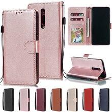 Redmi Note 7 8T 6 Pro 7A 6A 5A 5 Plus K20 Pro Flip Wallet Le