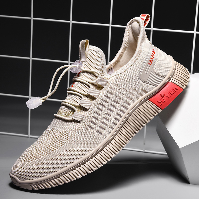 Light Sneakers Tennis Sport Masculino Zapatillas Hombre Large size Men Casual Shoes Lace-up Comfortable Breathable Walking Shoes