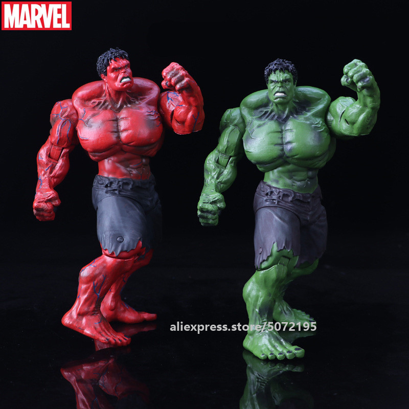 Hasbro Avengers Marvel Hulk Green/Red Multiple joints can rotate Marvel Action Figure Avengers PVC Collectible Model
