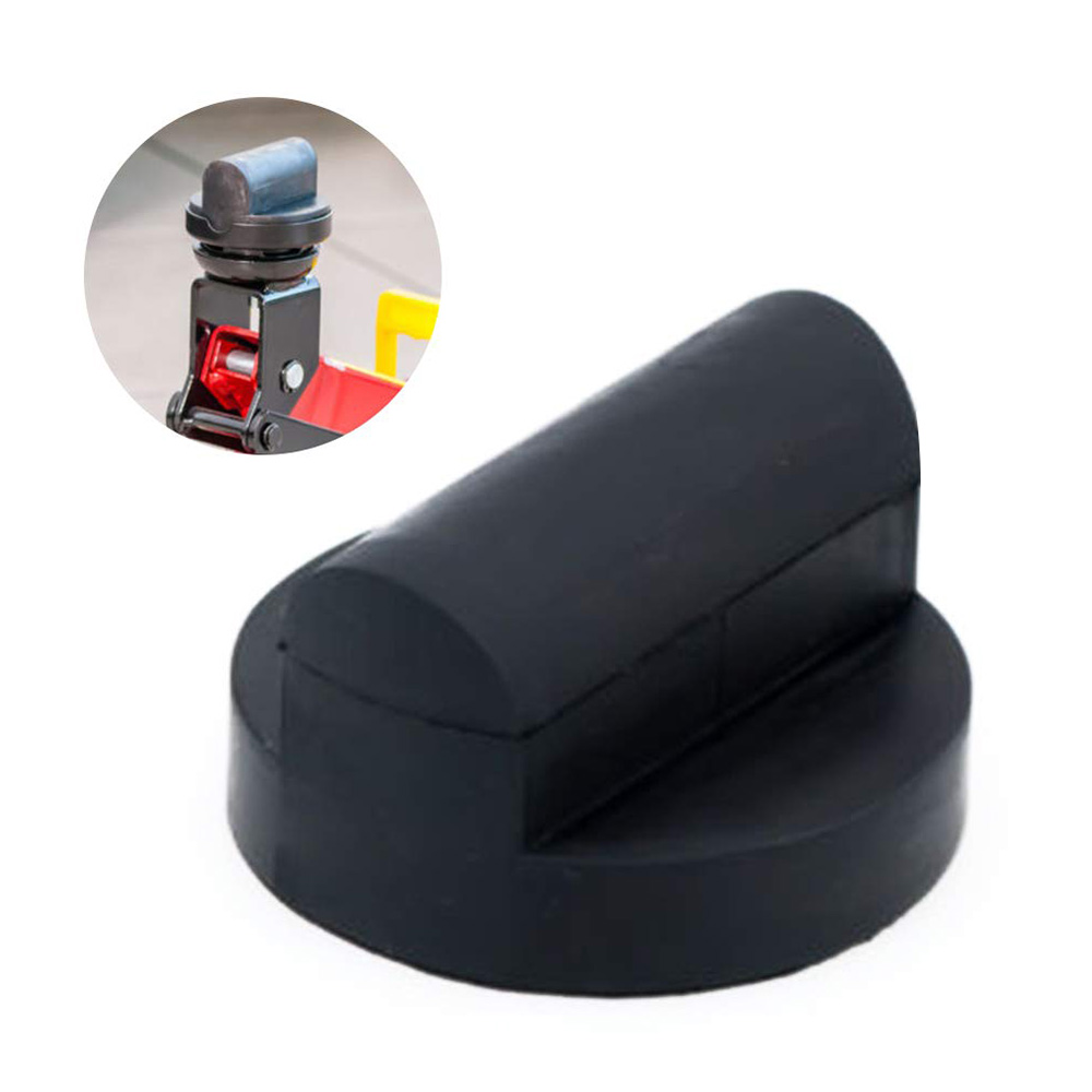 Увеличенный резиновый тележка домкратом Pad прочный Поддержка адаптер Инструменты для ремонта автомобилей для Audi TT R8 RS A6 A7 Инструменты для р...