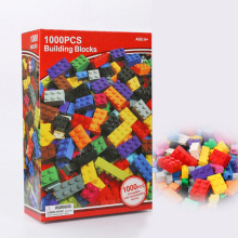 1000Pcs City Building Blocks Creative Bulk Sets Compatible  DIY Educational bricks Assembly Educational Toys for Children купить недорого в Москве