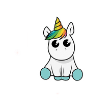 Car Sticker Lovely Unicorn Funny Cartoon Waterproof Automobiles Motorcycles Exterior Accessories Vinyl Decals,15cm*10cm недорого