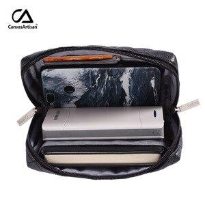 Image 5 - Nouveau sac de rangement numérique, étui organisateur de voyage pour accessoires chargeur câble de banque dalimentation écouteurs USB, fermeture éclair Portable, L19 51