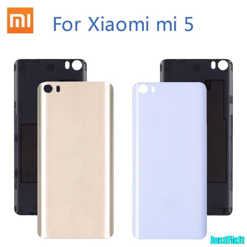 Oryginalna plastikowa tylna pokrywa baterii etui na xiaomi mi 5 tylna pokrywa baterii tylna obudowa zamiennik dla Xiao mi mi 5 mi 5 M5