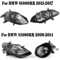 New Motorcycle Headlight Lamp Assembly Kit Fit For BMW S1000RR 2009 2010 2011 2012 2013 2014 2015 2016 2017