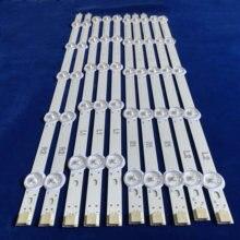 New Kit 10 PCS R1 L1 R2 L2 LED strip perfect Replacement for LC420DUE 42LN5400 6916L 1385A 6916L 1386A 6916L 1387A 6916L 1388A