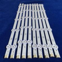Nowy zestaw 10 sztuk R1 L1 R2 L2 taśmy LED idealny zamiennik dla LC420DUE 42LN5400 6916L 1385A 6916L 1386A 6916L 1387A 6916L 1388A