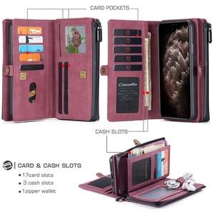 Image 5 - กระเป๋าหนังสำหรับiPhone 12 11 Pro XS Max XR X SE 2020 8 7 Plusสำหรับsamsung Note 20 Ultra 10 S20 A51 A71 Coque