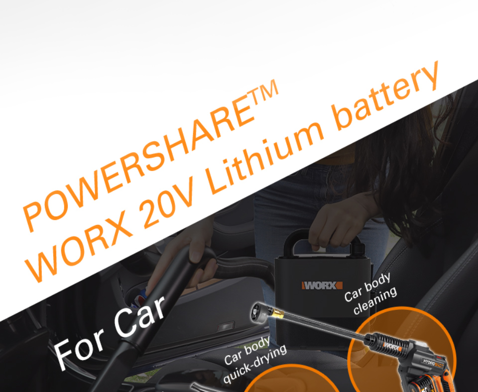 WORX Lithium Battery