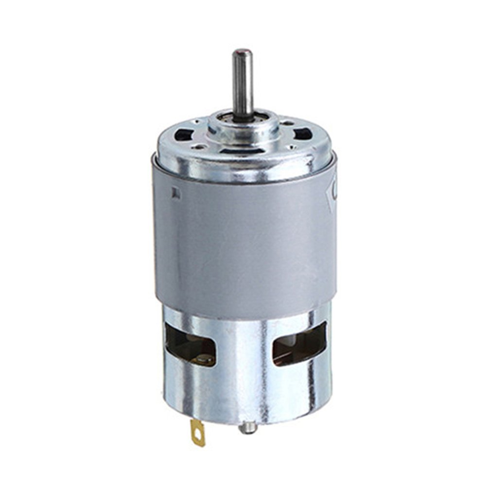 775/795/895 DC Motor 12V Dual Ball Bearing Large Torque Electronic Component Motor High Power Low Noise