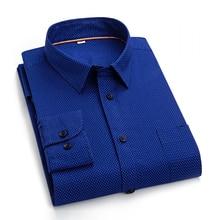 Autumn New Leisure Cotton Men's Long Sleeve Shirt