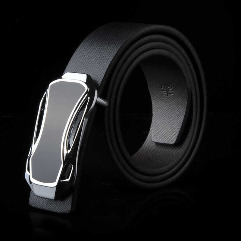 DYROREFL Brand Genuine Men's Leather Fashion Belt Alloy Material Pin Buckle Business Retro Men's Jeans Wild High Quality Belts