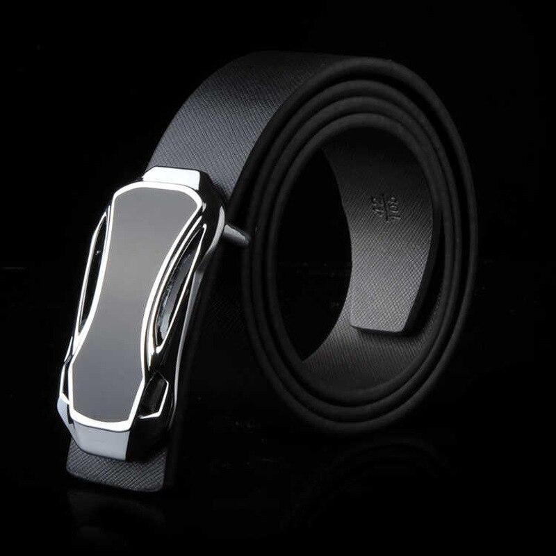 TJ-Tianjun Brand Genuine Men's Leather Fashion Belt Alloy Material Pin Buckle Business Retro Men's Jeans Wild High Quality Belts