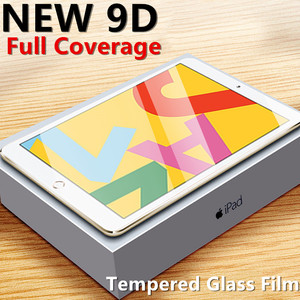 Screen Protector For iPad 2017 2018 9.7 10.2 Air 1 2 3 Tempered Glass For ipad 7 2020 mini 5 4 Protective Film Pro 11 10.5 Glass