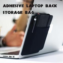 Adhesive Laptop Back Storage Bag Laptop Organizer
