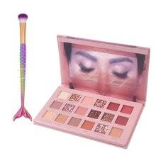 18 Color Glitter Eyeshadow Cosmetics Matte Shimmer Radiant Desert Rose Eye shado