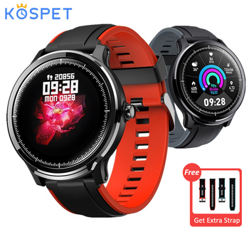 Kospet Probe Smart Watch 1.3 inch Full Touch Screen IP68 Waterproof Sport Smartwatch 15 Days Battery Life Heart Rate Monitor