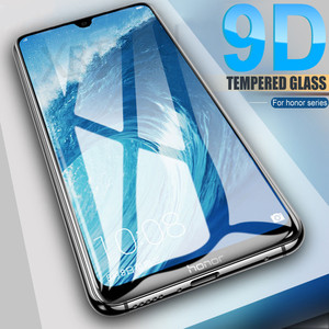 9D Protective Glass on the For Huawei Honor 20 10 9 Lite 10i 20i 9X 9A 9S 8A 8S 10 Lite Tempered Screen Glass Safety Film Case