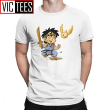 Men's T-Shirt Dragon Quest The Adventure Of Dai Avan Cotton Xi Rpg Game Games Warrior Slime Tshirt Gift