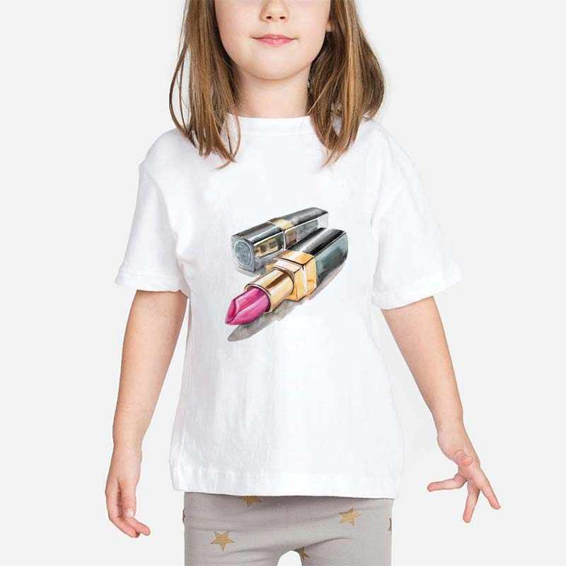 Mädchen T-shirts frauen T-shirts Familie mit Mom Tochter Donut Druck Cartoon Koreanische Kurzen ärmeln Harajuku kinder T-shirt