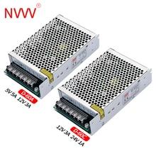 NVVV 60 Вт Двойной Выход переключение Питание 5V 12V 5V 24V, 12V 24V Питание трансформатор преобразователь переменного тока в постоянный D-60A D-60B D-60C