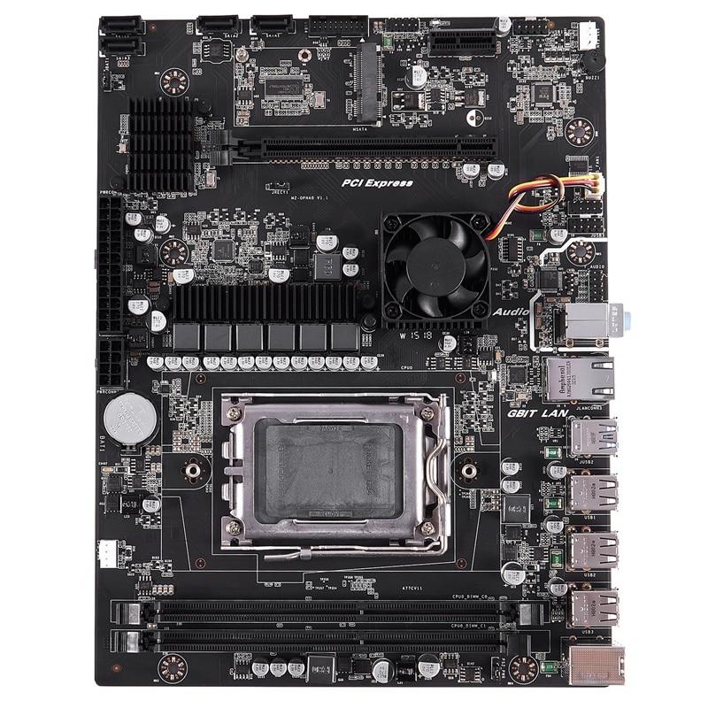 HOT-X89 Socket G34 Practical Desktop Computer Mainboard With SATA 2.0 USB 3.0 2 DDR3 1600 16G Motherboard For AMD