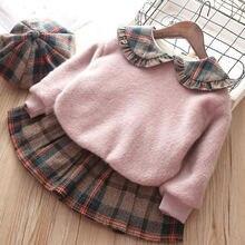 2021 новая зимняя куртка для девочек теплая детская одежда с