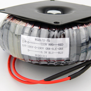 Image 2 - 75VA pure copper Circular Transformer of tube amplifier 75W 190V 0 190V 0.15A 0 6.3V 3A TUBE AMP power supply