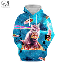 PLstar Cosmos Animal Cat Art Cartoon Harajuku Tracksuit 3D Print Hoodie/Sweatshirt/Jacket/shirts Men Women hiphop casual style-2