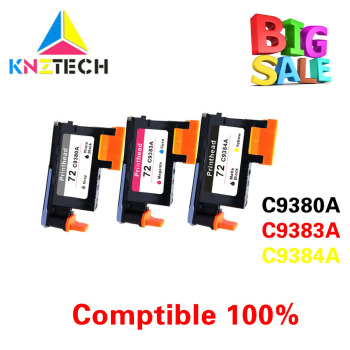 KNZ compatible for hp 72 printhead C9380A C9383A C9384A for hp72 DesignJet T1100 T1120 T1120ps T1300ps T2300 T610 T770 T790 T795 image