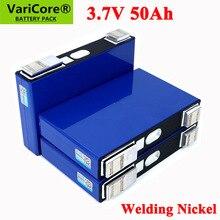 1 8pcs 3.7V 50Ah battery Ternary lithium 50000mAh for 3s 12V 24V 10s 36V 48V Electric bicycle batteries modification Nickel