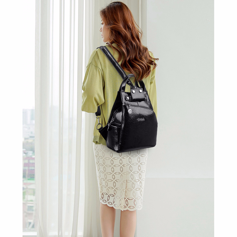 H1628811eb0394d7fa7df338b14548181e - Women Leather Backpacks High Quality Sac A Dos Anti-theft Backpack For Girls Preppy School Bags For Girls Casual Daypack