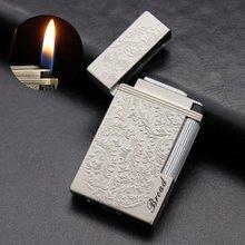 Кремня газовая зажигалка для сигарет Сигар Зажигалка шлифовальный