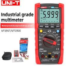 UNI-T ut191t/e multímetro profissional industrial grau digital medidor universal à prova dwaterproof água e dustproof 6000 contagem 20a amperímetro
