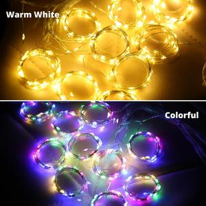 Image 1 - New Copper wire Curtain String Light christmas 300 LED 3x3m Twinkle Window fairy IP65 5V USB IR Remote Wedding Party Holiday