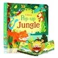 Всплывающие джунгли английский образовательный 3D лоскут картины книги заколдованный лес дети чтения книги