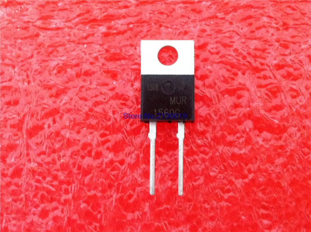 10pcs/lot MUR1560 MUR1560G U1560 TO-220 IC In Stock