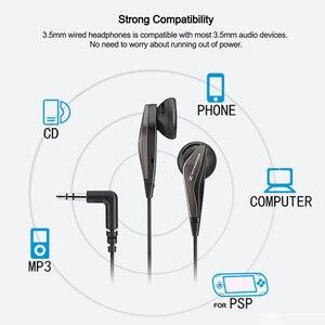 Image 4 - ゼンハイザーMX375オリジナルステレオイヤホン重低音イヤホン3.5ミリメートルヘッドセットスポーツヘッドフォンhd解像度音楽iphone androd